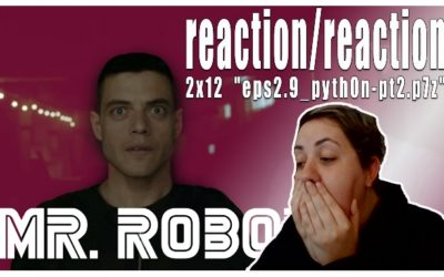 "MR. ROBOT | 2×12 ""eps2.9_pyth0n-pt2.p7z"" REACTION/REAÇÃO"
